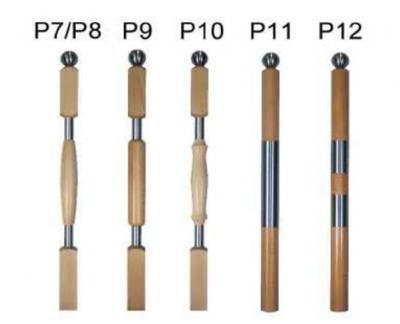 Pfosten Holz Stahl